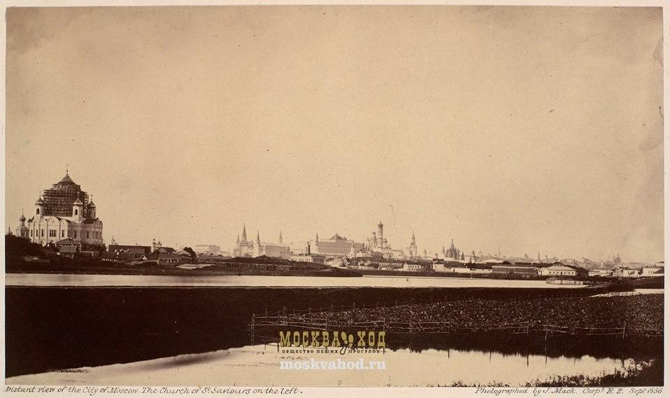 Интересные факты о Москве - десять фотографий из 1856 года - места в Москве