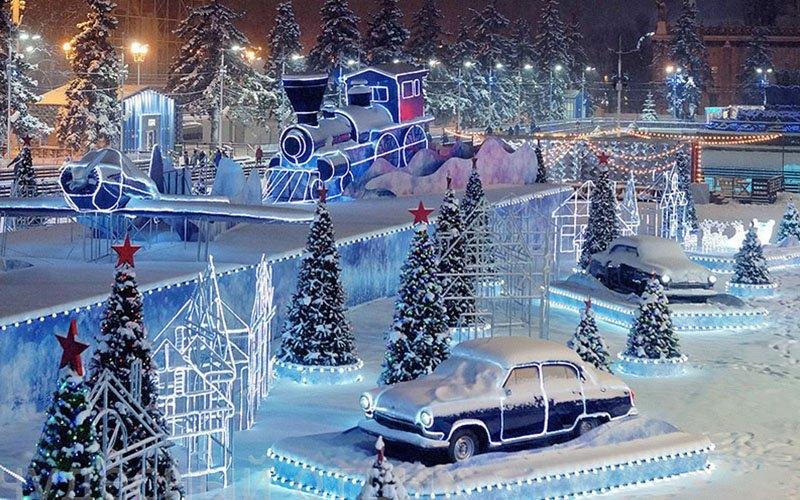 Москва в новогодние праздники 2019: куда пойти погулять