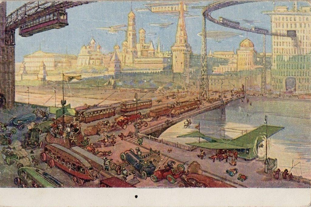 Интересная Москва будущего