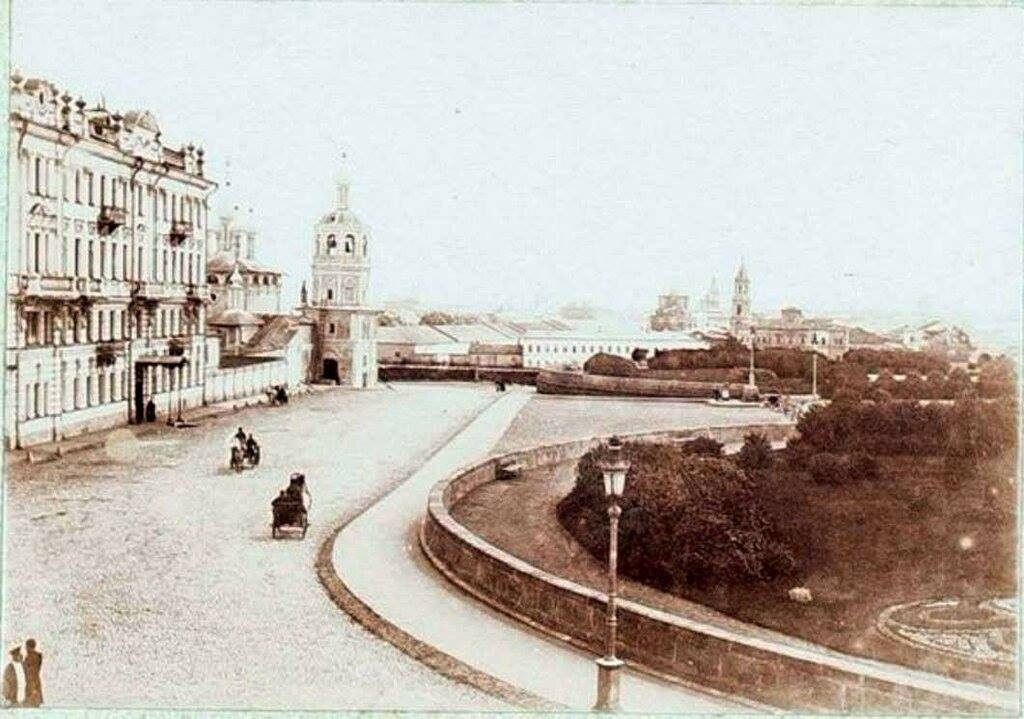 Дореволюционные фотографии Москвы