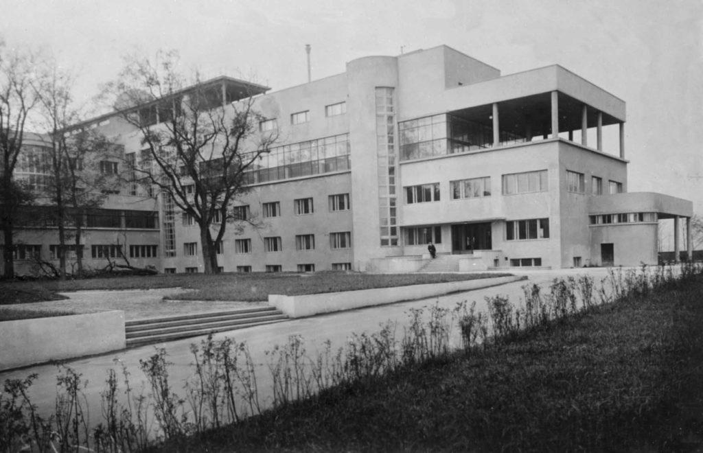 Советский архитектурный авангард первой четверти ХХ века