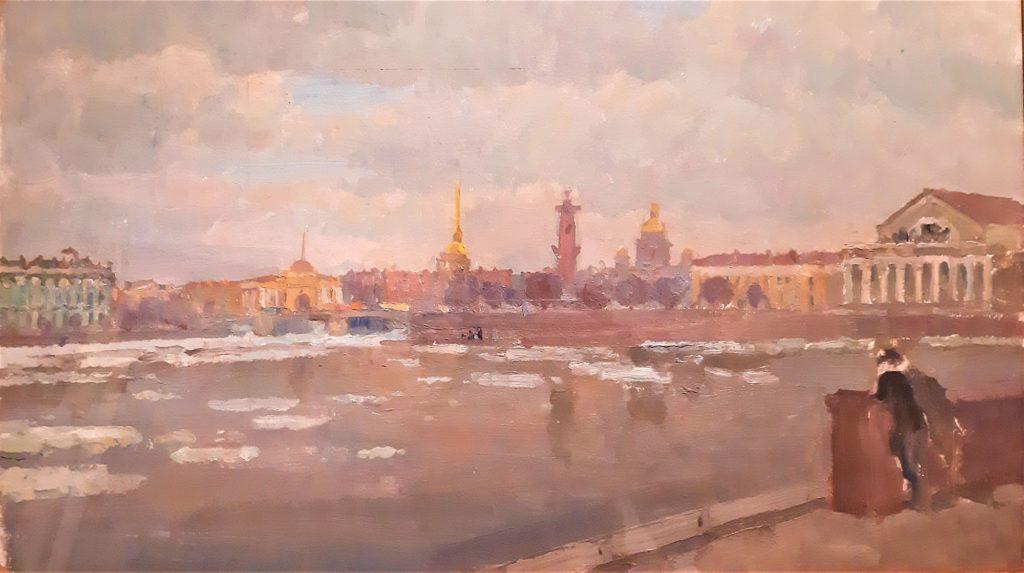 Музей МоскваХода «Москва и Петербург художника Николая Григорьева»